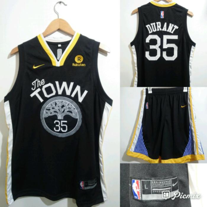 brand new 4c665 3213b Jual Jersey Basket Nike Golden State Warriors The Town - DKI Jakarta -  TokoBasket | Tokopedia
