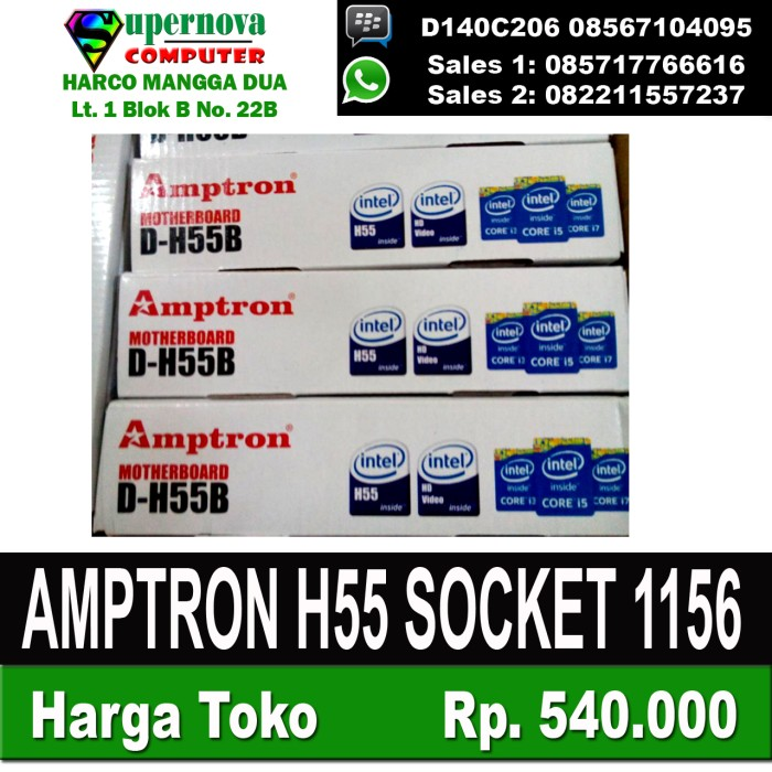 harga Mainboard suntech h55 socket 1156 Tokopedia.com