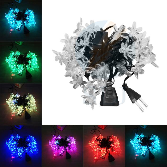 Foto Produk Lampu natal Led bunga warna warni / lampu hias / lampu dekorasi dari sumber lighting jaya