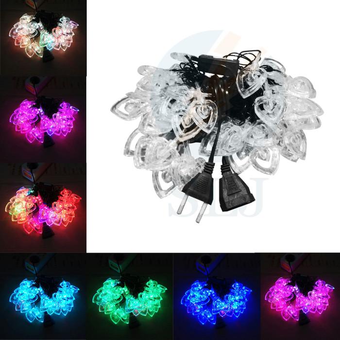 Foto Produk Lampu natal Led love warna warni / lampu hias / lampu dekorasi dari sumber lighting jaya