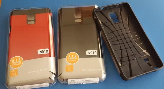 Backcase Sarung Spigen Slim Armor untuk Samsung Note 4 (N910)