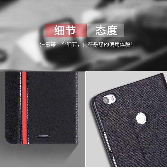 harga Xiaomi mi max case leather casing hp x-phase flip cover casing Tokopedia.com
