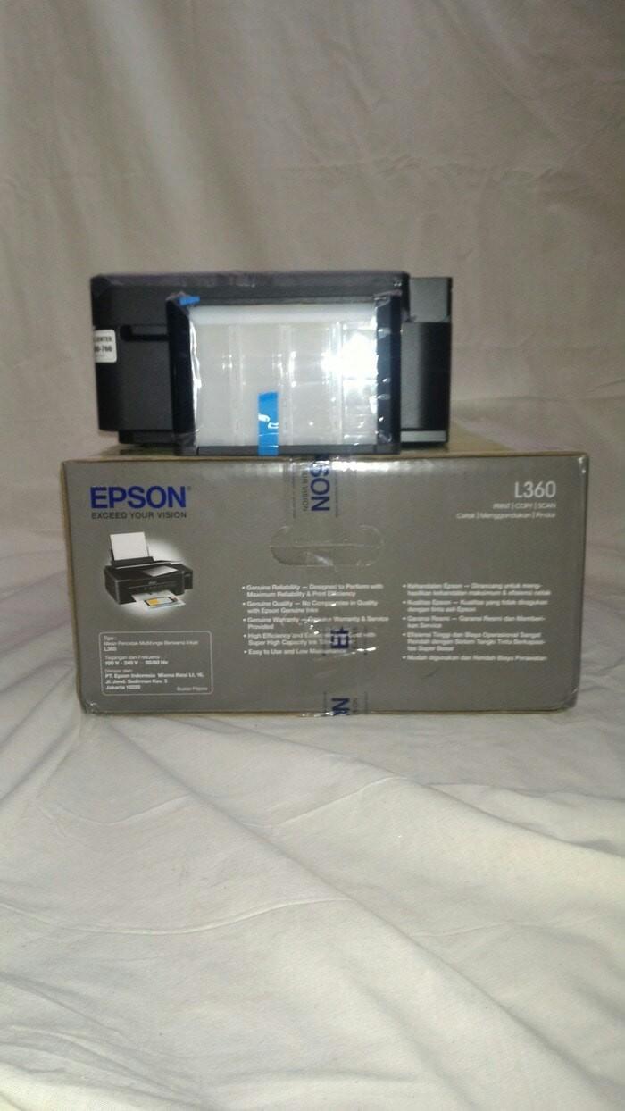 Jual Printer Epson L360 Print Store Malang Tokopedia L 360
