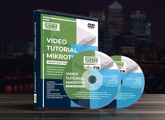 Jual Video Tutorial Mikrotik - Kota Bandung - Padepokan IT | Tokopedia