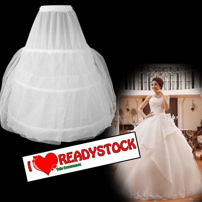 harga Petticoat 3kawat yang berfungsi pengembangan rok pengantin Tokopedia.com