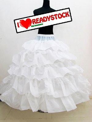 harga Petticoat pengembang lapisan kawat dan model daun teratai Tokopedia.com