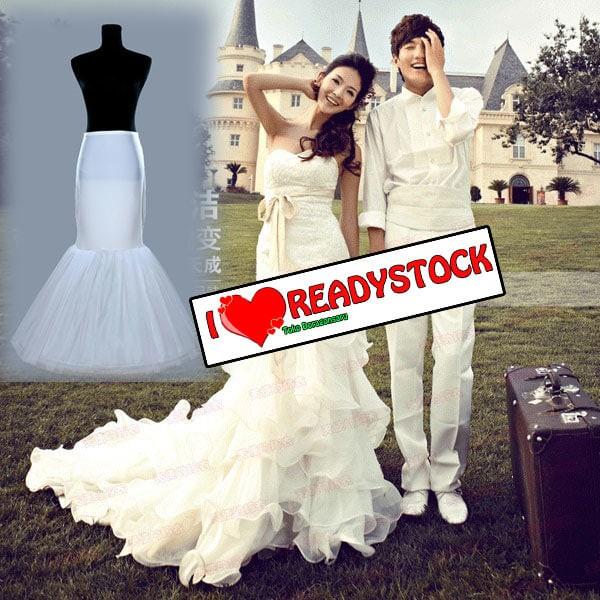 harga Petticoat ikan duyung untuk gaun pengantin dan gaun pesta Tokopedia.com