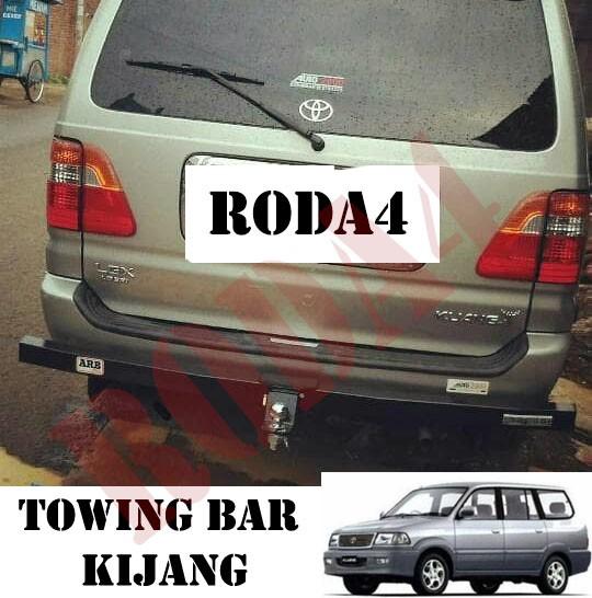 harga Towing bar besi bumper belakang arb semua kijang  panjang full Tokopedia.com