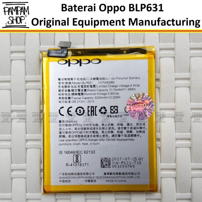 harga Baterai handphone oppo f3 blp631 original ome batrai batre blp 631 hp Tokopedia.com