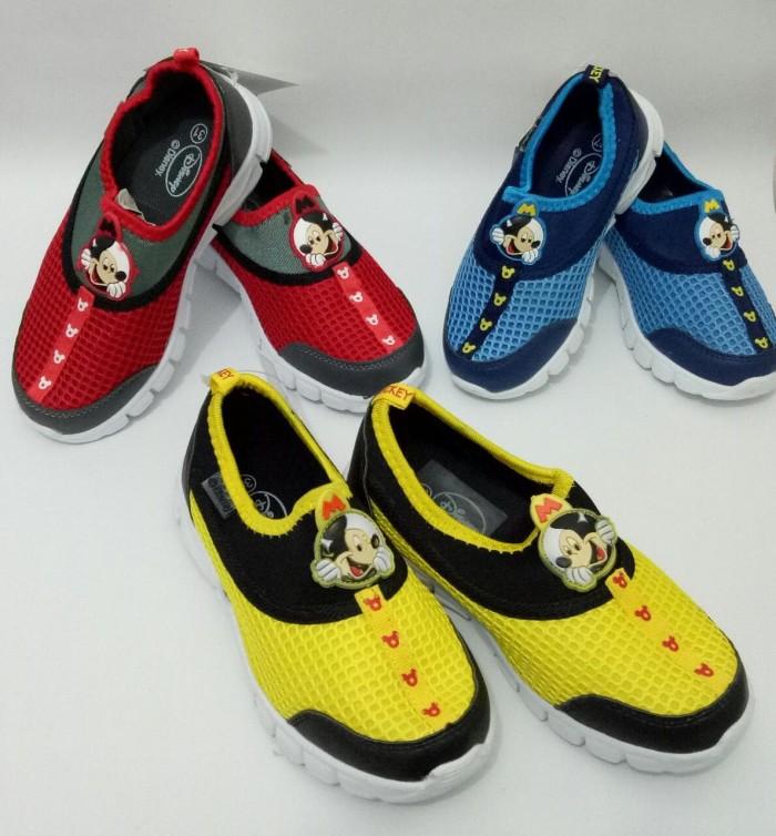 harga Disney Shoes Mickey 3 Colors (warna Merah Dan Biru ) Tokopedia.com