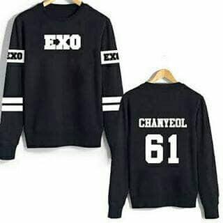 harga Baju pakaian jaket wanita kpop chaenyol exo 61 sweater Tokopedia.com