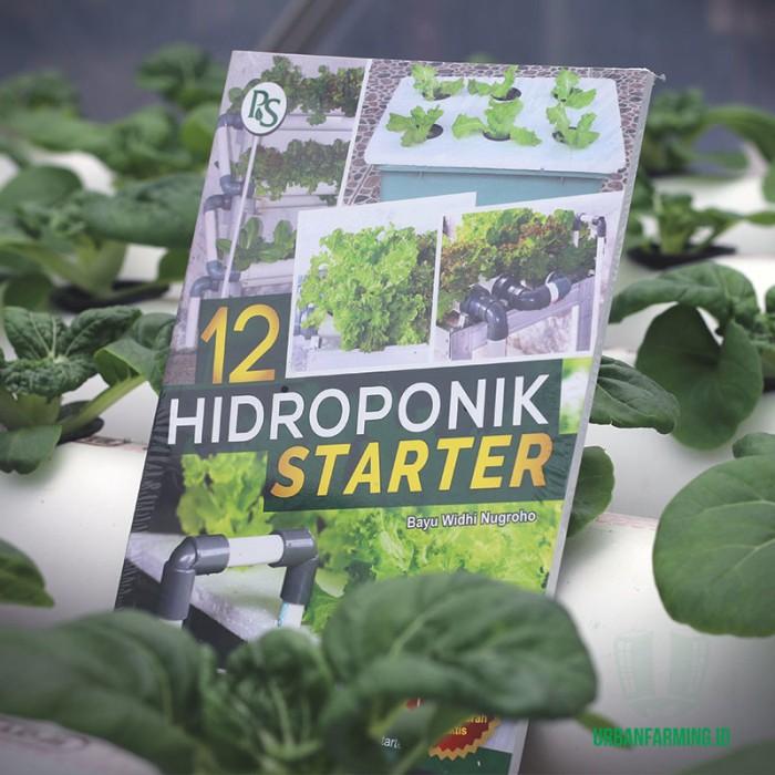 harga Buku hidroponik  12 hidroponik starter Tokopedia.com