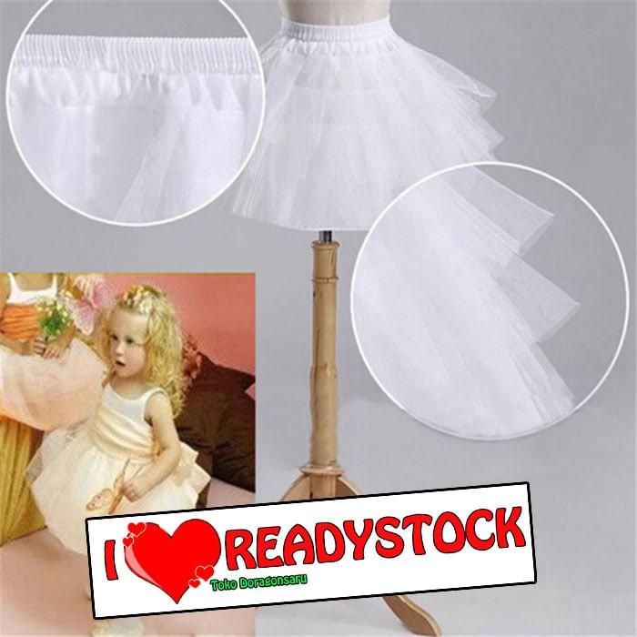 harga Pt.mini.a - petticoat mini anak fungsi pengembangan rok gaun pesta Tokopedia.com
