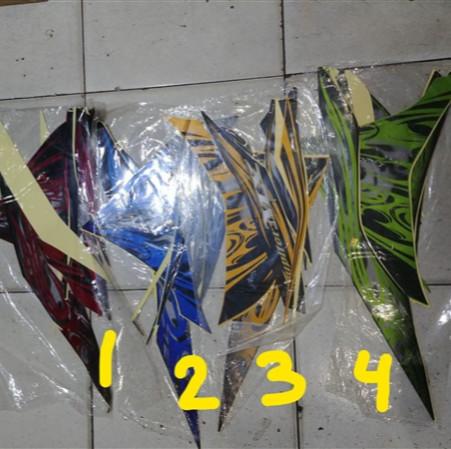 harga Striping lis&stiker body&stiker motor jupiter mx 135 2011 2012 Tokopedia.com