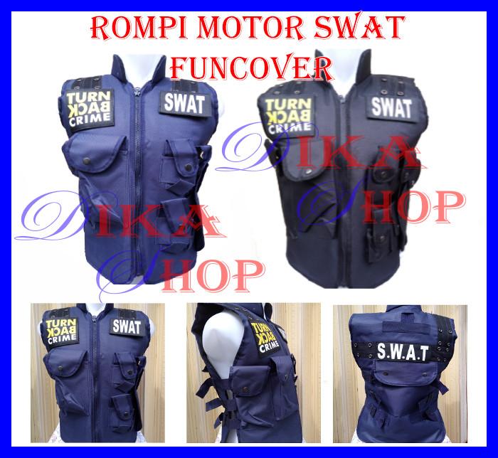 ... Rompi motor Body Protector Vest SWAT Turn Back Crime