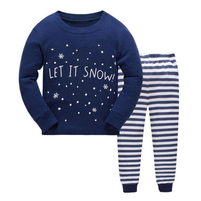 harga Piyama anak baju tidur anak lengan panjang baby gap hk let it snow  Tokopedia 4dc98de051