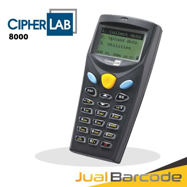 harga Mobile portable barcode scanner stok opname cipherlab 8000   pdt Tokopedia.com