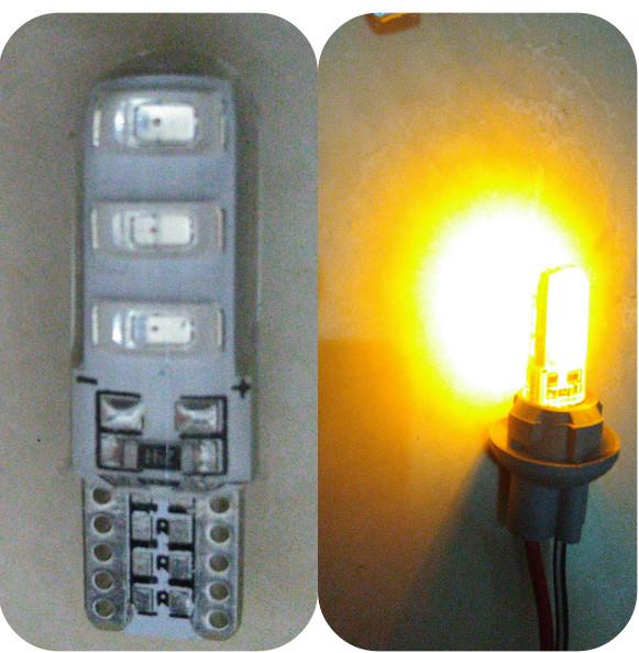 Foto Produk SMD5630 lampu led T10 KUNING, speedometer, kilometer, senja, sien, sen - Diam dari Anugrah Mentari