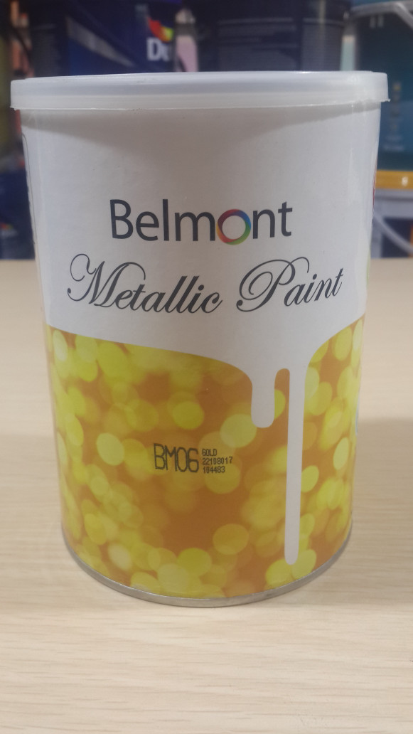 harga Belmont metallic paint 1l: bm15 (cat tembok metalik) Tokopedia.com