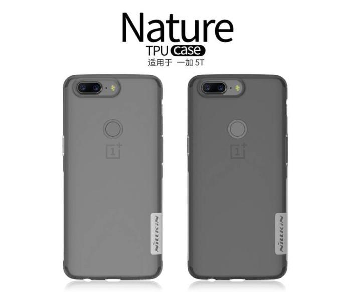 Foto Produk Soft Case Nillkin OnePlus 5T TPU Nature Series dari Honeycomb