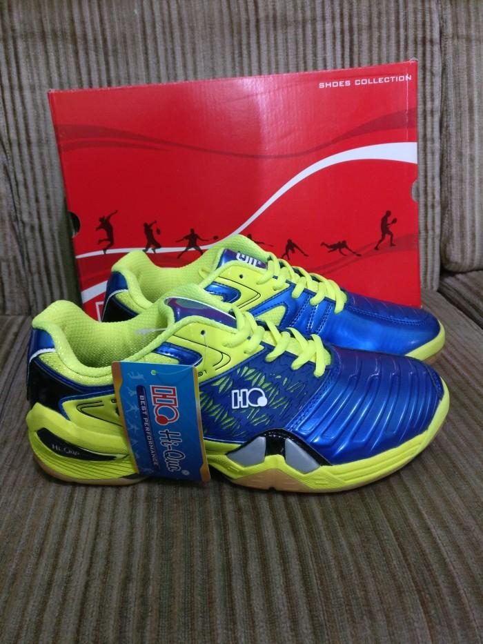 Jual Sepatu Badminton Hiqua Hi Qua Grandprix Blue Citroen Original ... e3fd2808c6