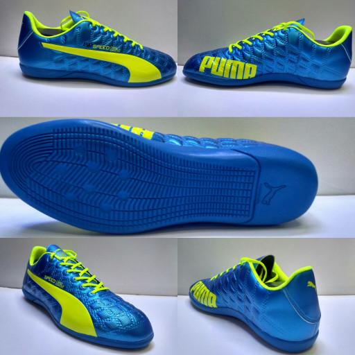 Jual Sepatu Futsal Puma Evospeed Biru list Stabilo Grade Ori - Babes ... 92dcd21f5f