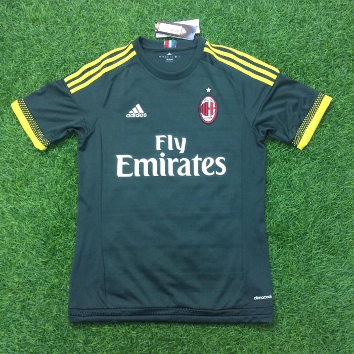 harga Original jersey ac milan 2015-16 third baju bola asli Tokopedia.com