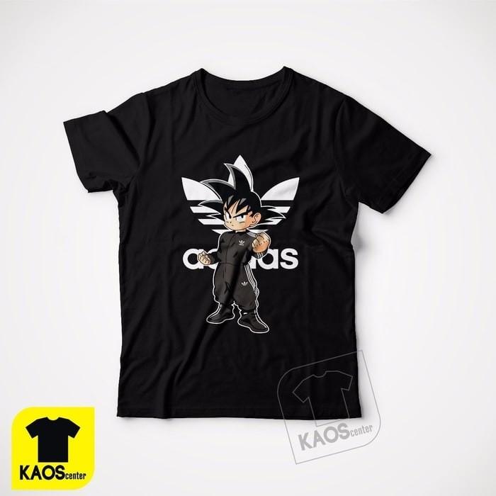harga Kaos tshirt baju combed 30s distro adidas retro goku dragon ball Tokopedia.com