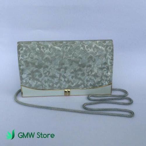 Jual Tas Pesta Wanita Cantik Elegant Warna Silver - DIDINQP  303e9a82a5