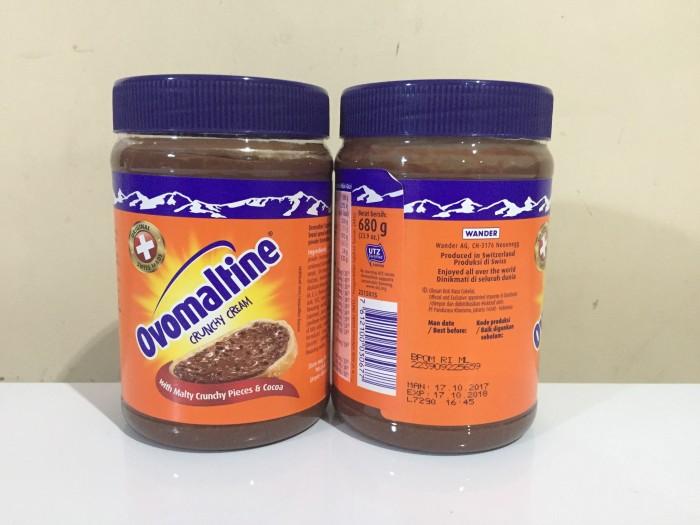 harga Ovomaltine Crunchy Cream 680 Gr  680gr Tokopedia.com
