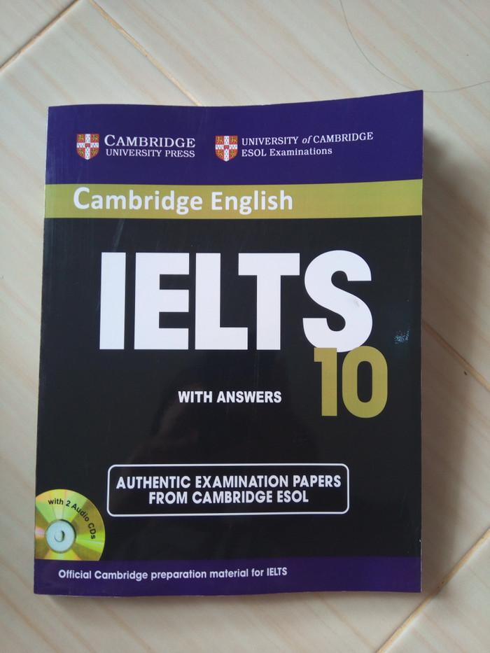 harga Cambridge ielts 10 - student's book with answers & audio cd Tokopedia.com