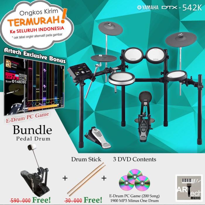 harga Drum elektrik yamaha dtx542 + pedal / dtx542k / dtx 542 / dtx 542k Tokopedia.com