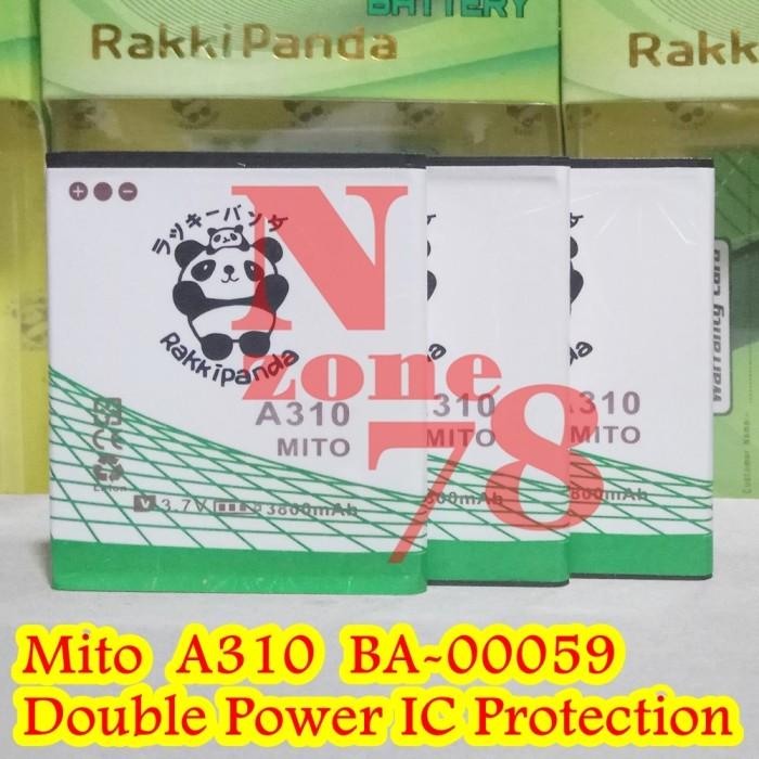 Baterai mito a310 ba-00059 fantasy-2 mcom double power protection
