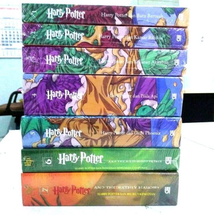 harga (segel baru) harry potter fullset 1-7  j k rowling novel asli gramedia Tokopedia.com
