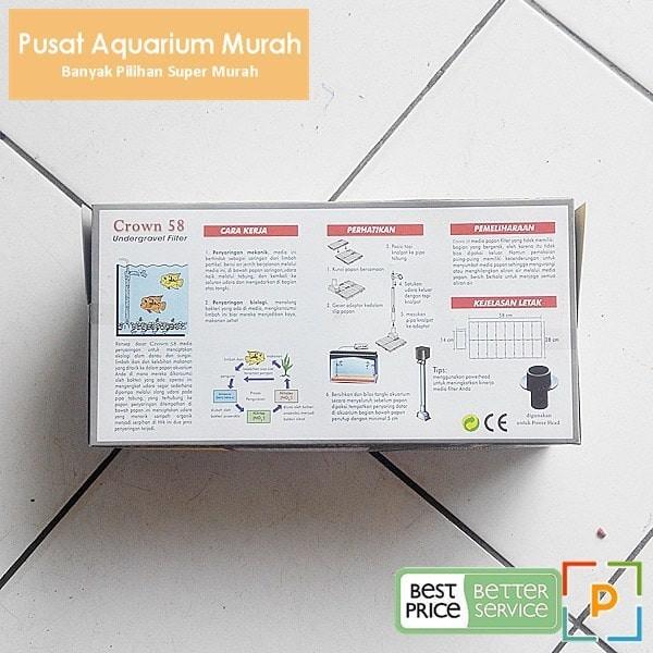 Jual Murah Undergravel Filter 60 Crown 58 Ugf Aquarium 60 Cm