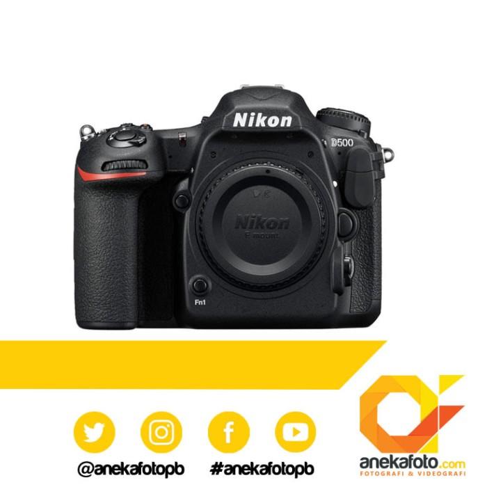 harga Nikon d 500 body only black Tokopedia.com