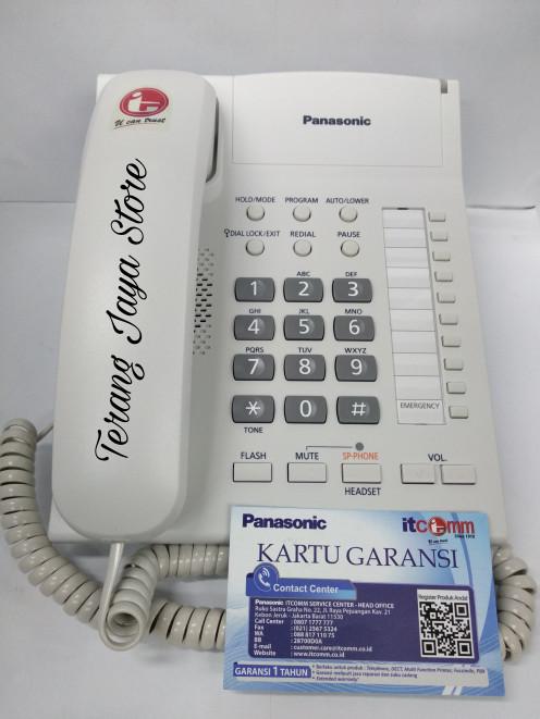 harga Telepon kabel panasonic kx-ts845nd (putih) pesawat telepon rumah ts845 Tokopedia.com