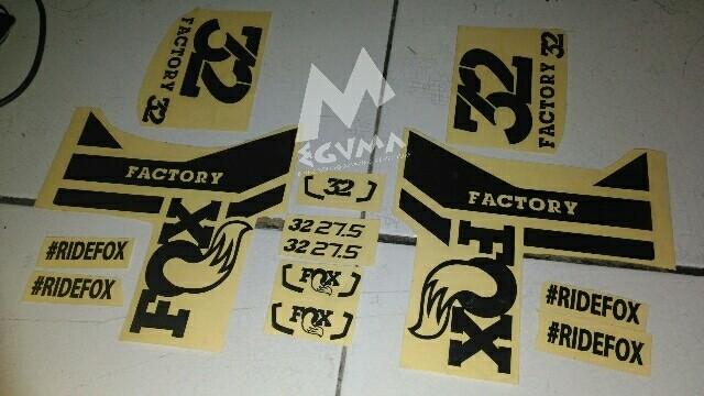 Custom sticker cutting stiker sepeda mtb bmx fixie untuk gowes mania