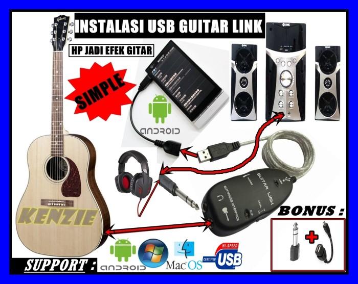 harga Soundcard usb guitar link cable bonus jack konverter dan otg Tokopedia.com