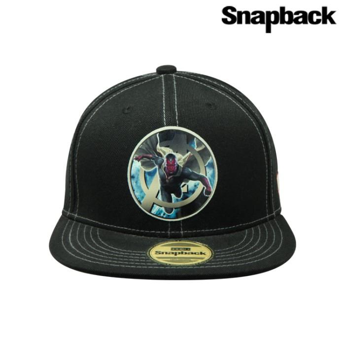 Snapback topi hiphop dewasa marvel vision black (mavg40005 blk) ... a9da241a12