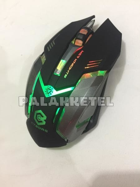 Foto Produk mouse Gaming wireless mouse CYBROG C1 rechangeable type charging dari LeoKomputer