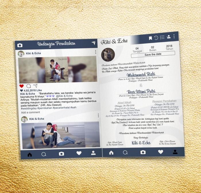 780 Foto Desain Undangan Pernikahan Ala Instagram Paling Keren Yang Bisa Anda Tiru
