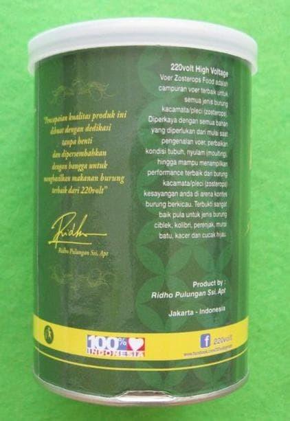 Jual Terbaik Makanan Pakan Voer Burung Pleci 220 Volt Kaleng 100 Gram Kota Surabaya Murot Sby Tokopedia