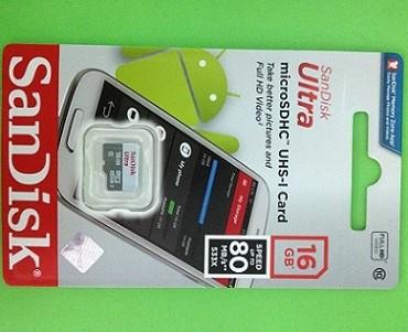 harga Micro sdhc sandisk ultra 16 gb class10 48 mb/s memory card micro sd hc Tokopedia.com