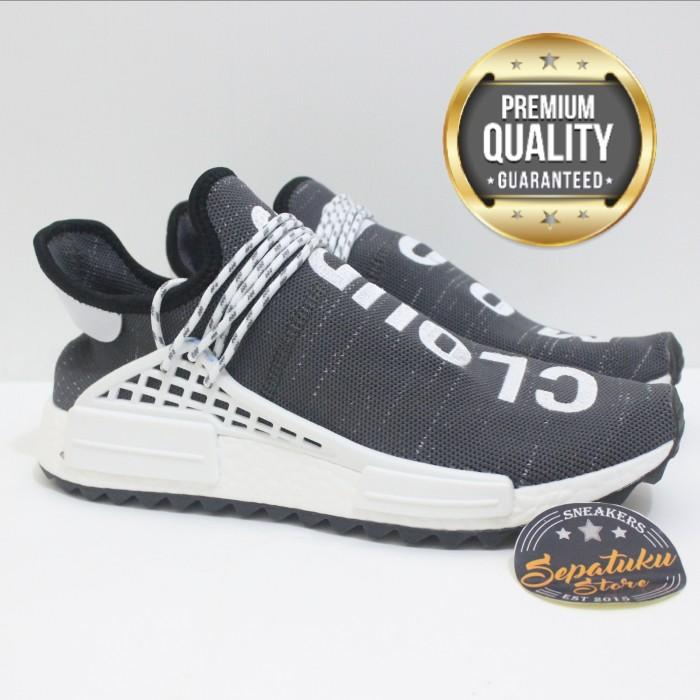 0b1c454123f17 Jual Sepatu Adidas NMD Human Race Trail Oreo x Cloud Mood Pharrell ...