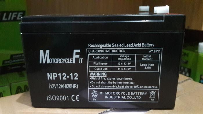 harga Aki baterai kering vrla mf 12v 12ah sepeda listrik mainan ups gs yuasa Tokopedia.com