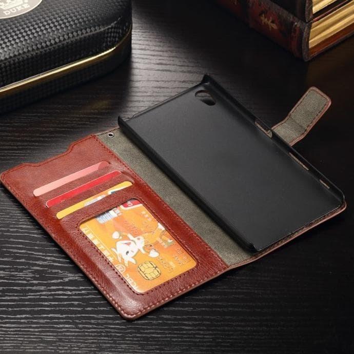 harga Casing hp sarung flip wallet kulit samsung galaxy note 4 Tokopedia.com