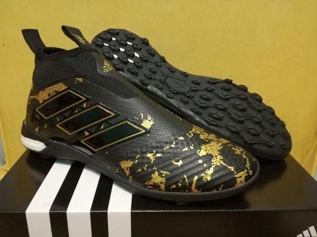 official photos 96bfd 7b4d9 Jual Sepatu Futsal Adidas ACE Tango 17 PURECONTROL Paul Pogba Black TURF -  Jakarta Barat - Adinuso shop | Tokopedia