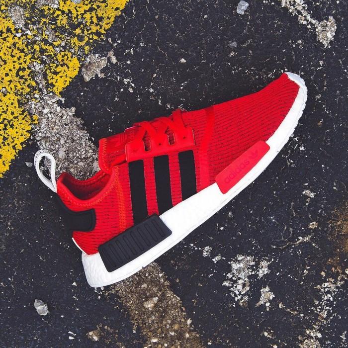 "481aa9599 Jual Adidas NMD R1 PK ""Core Red"" - Feet Stop"