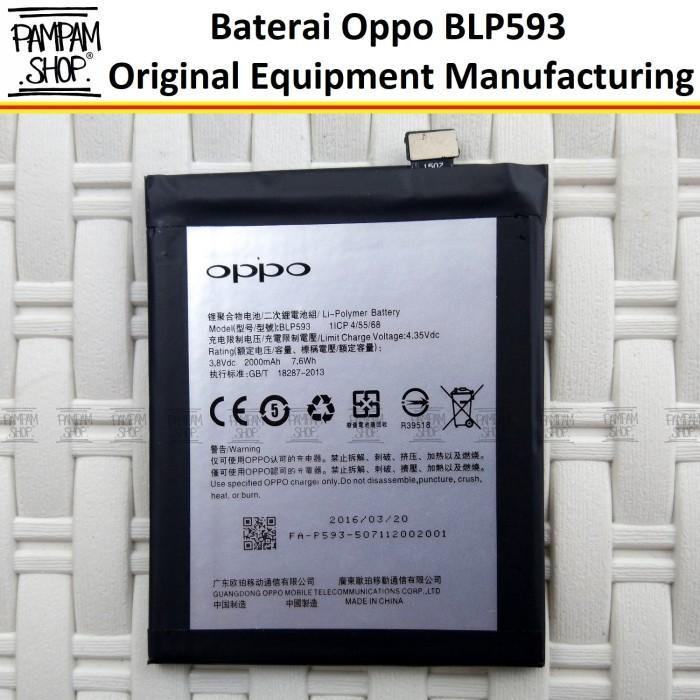 harga Baterai handphone oppo neo 5 blp593 original oem batre batrai blp 593 Tokopedia.com